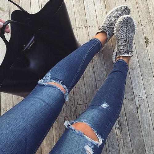 5 супер комбинации на дрехи с дънки