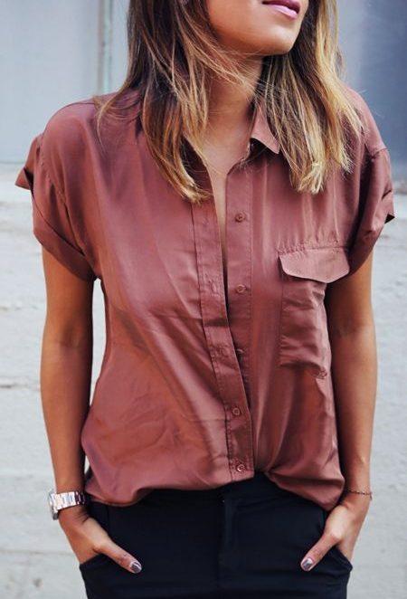 Ризи с къс ръкав – подходяща и за двата пола?