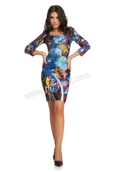 01edcdb1fdf рокли над коляното - Страница 3 от 6 - Дрехи Fashion Colors ✨