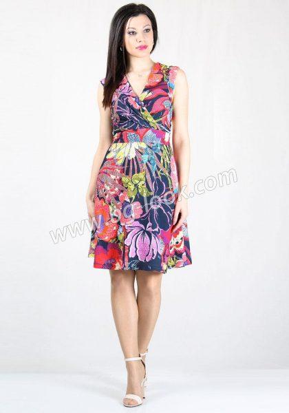 de042e8efb2 рокли с принт - Дрехи Fashion Colors ✨