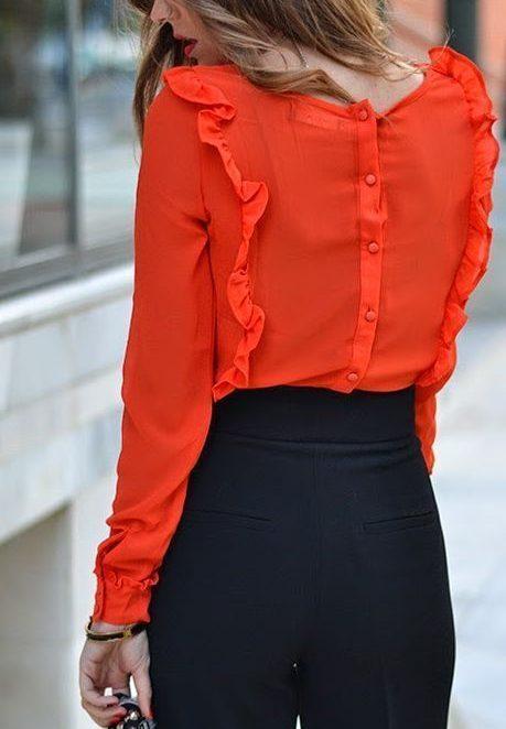 3 вида елегантни дамски блузи