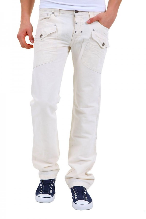 90d4618207e Absolut Joy by Einstein - мъжки панталон с капси- мр. бял - Дрехи ...
