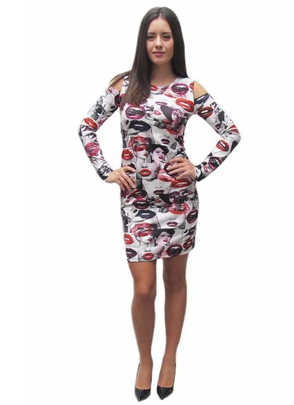 fc1a1666891 Права рокля от трико - Дрехи Fashion Colors ✨
