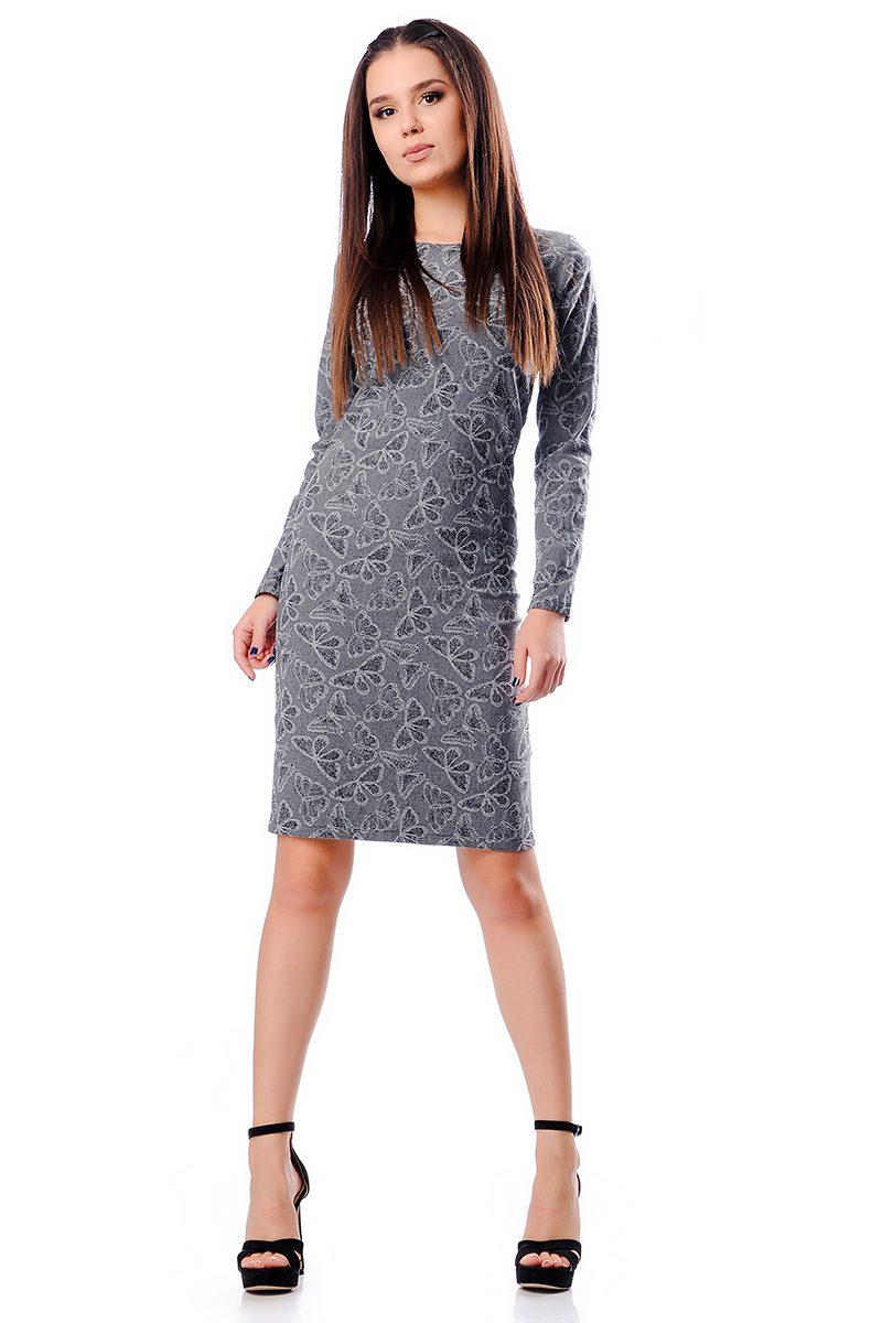 1a6fed01e27 Стилна вталена дамска рокля - Дрехи Fashion Colors ✨