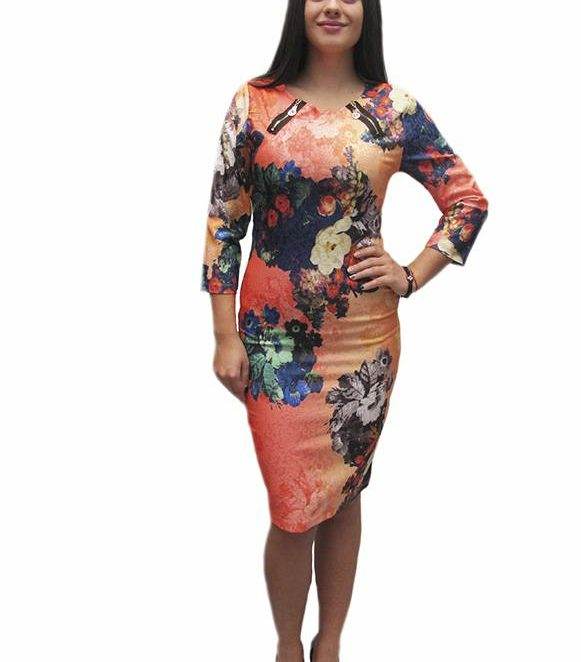 Микс от цветове в едно дамско облекло – Летисия