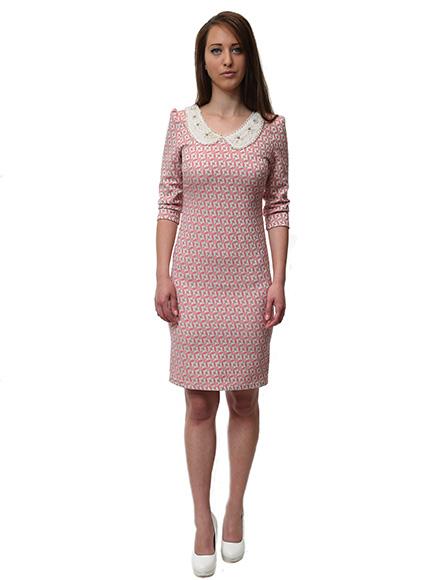 Момичешки стил с рокля с якичка